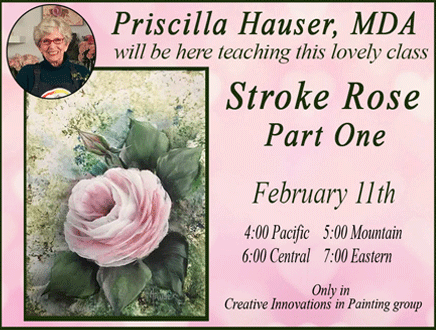 Painting with Priscilla - Creative Innovations in Painting
